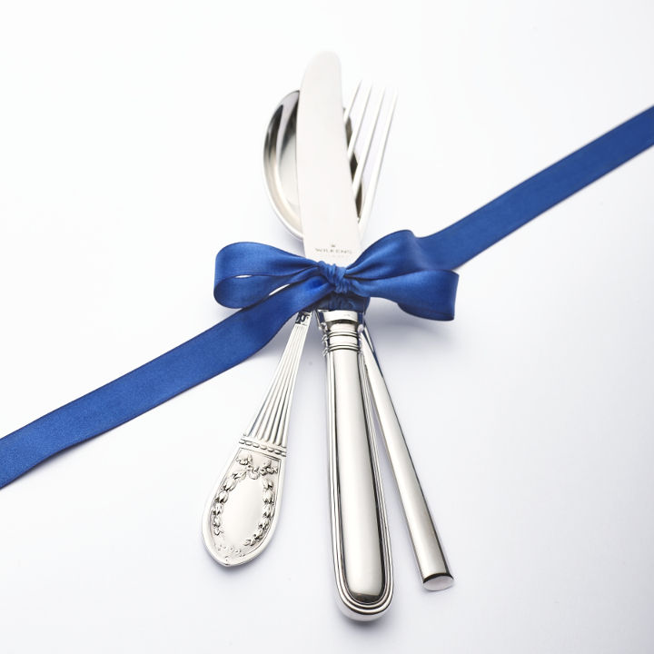 Variety and Selection: WILKENS offers the widest range of historical and modern cutlery patterns